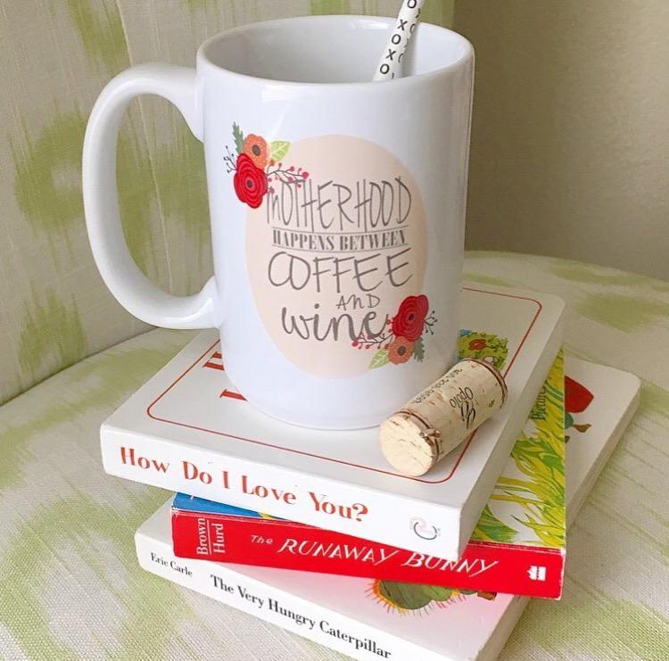 Motherhood Happens Coffee Mug