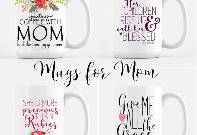 Weekend Wishlist: Mugs for Mom