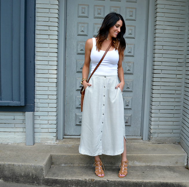 Easy Breezy Midi Skirt