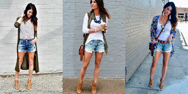10 Ways to Style Denim Shorts