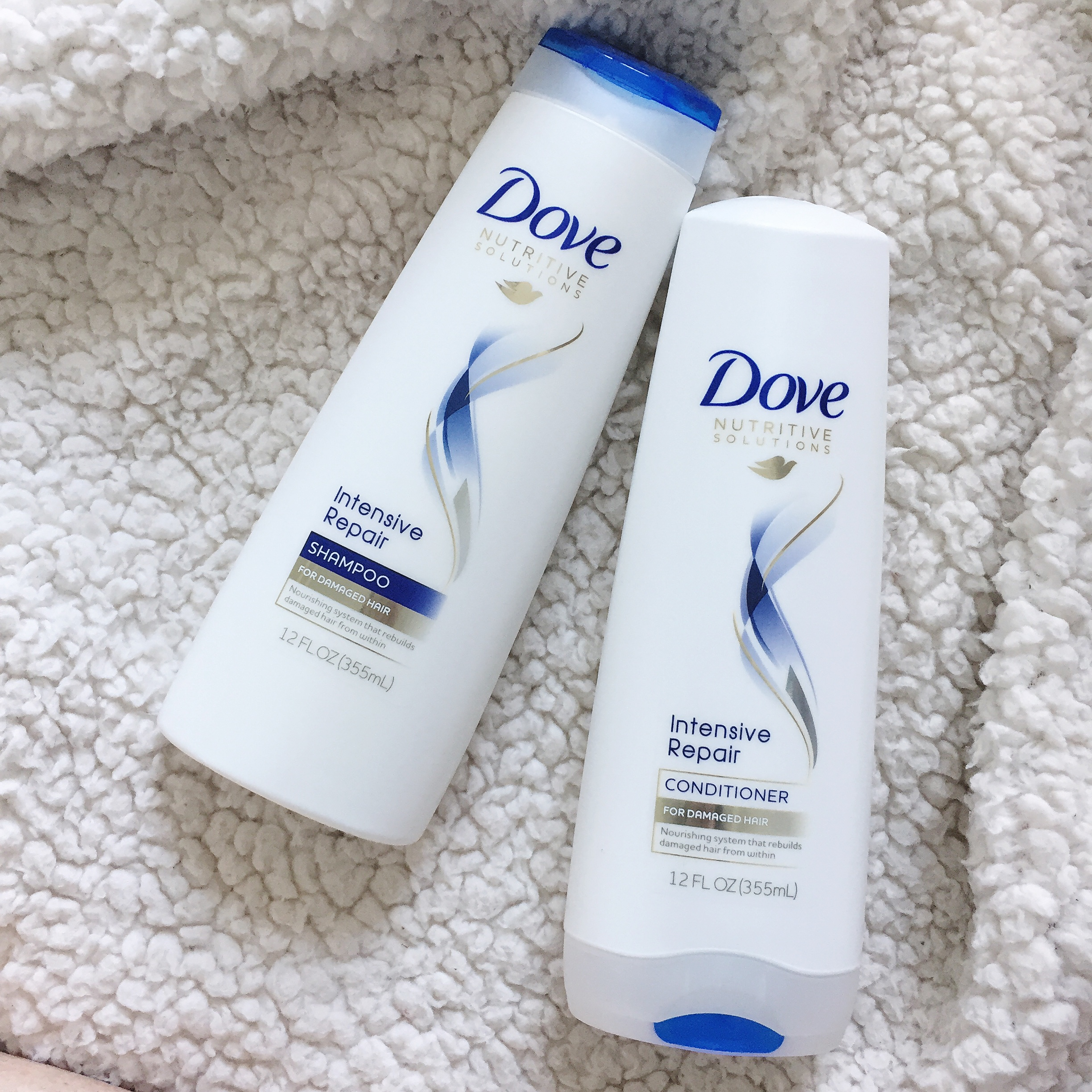 Restoring My Healthy Hair with Dove