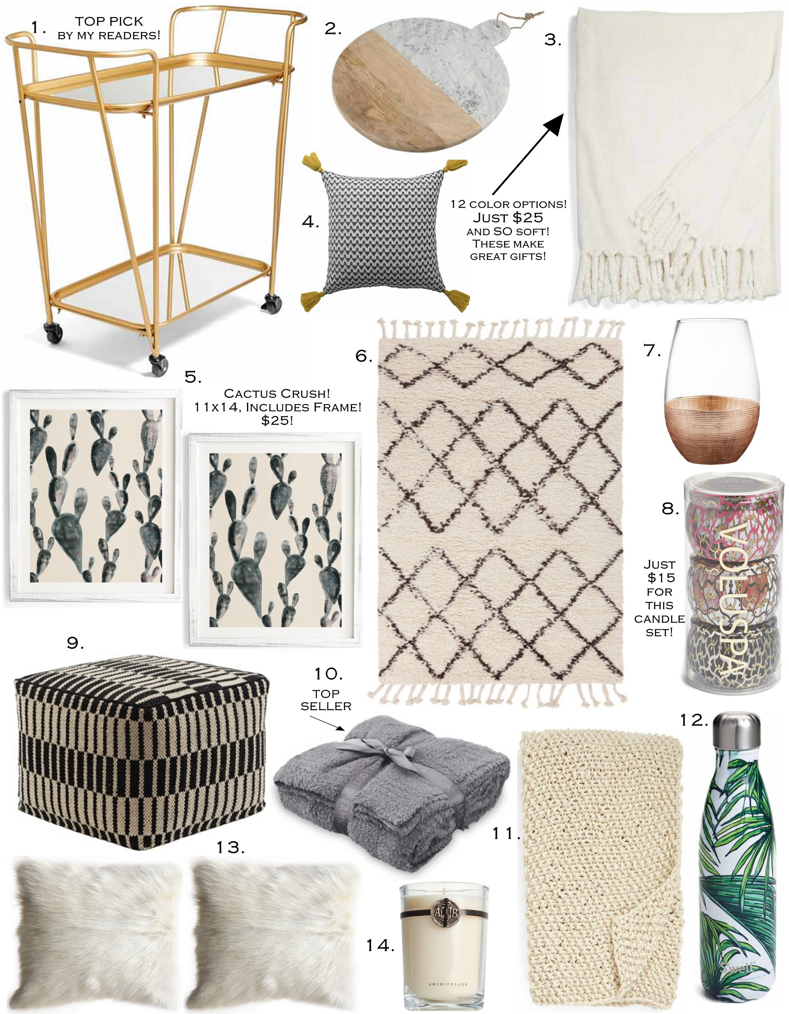 Nsale home d cor picks the sister studio Nordstrom home decor sale