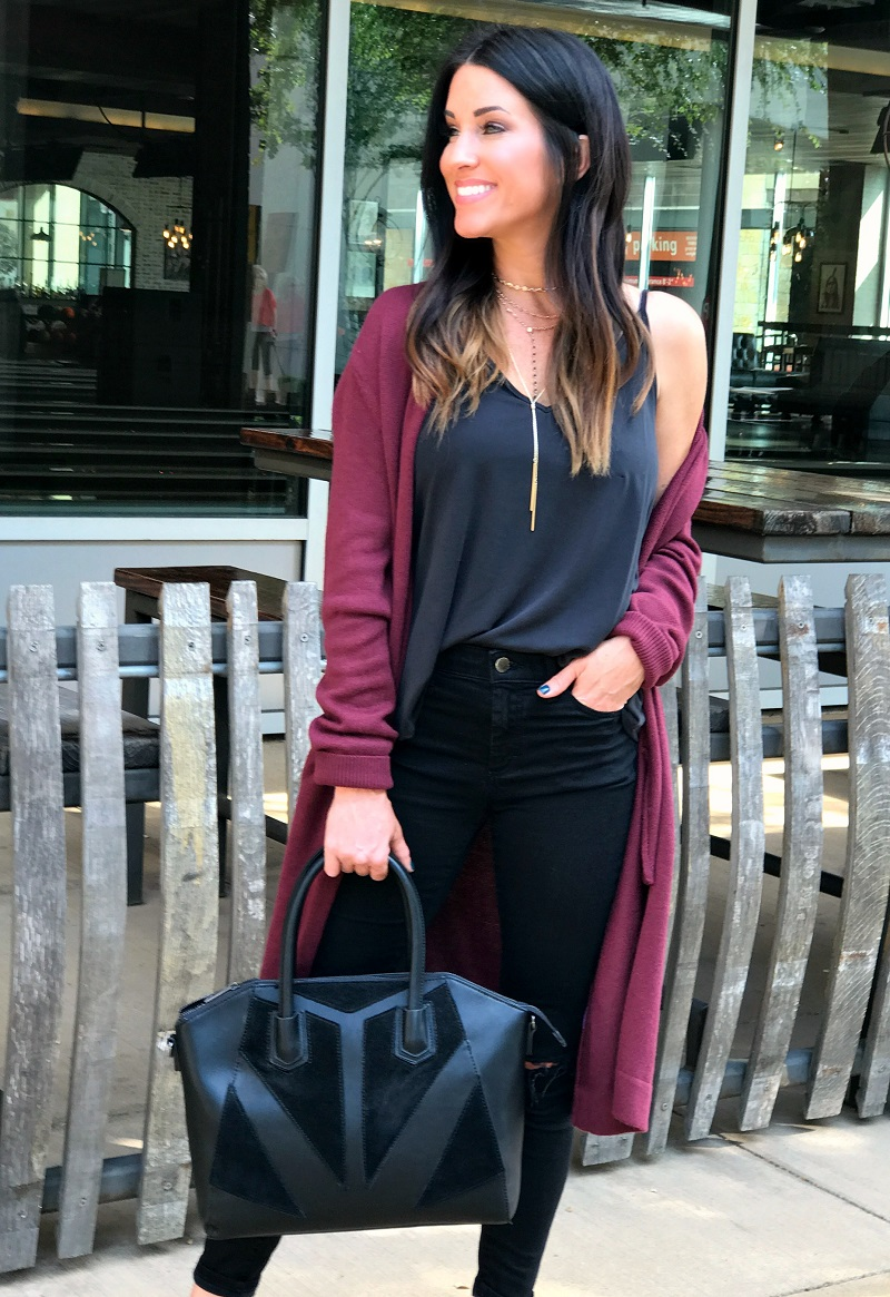 In addition to style and comfort, cardigans are also classy and timeless.