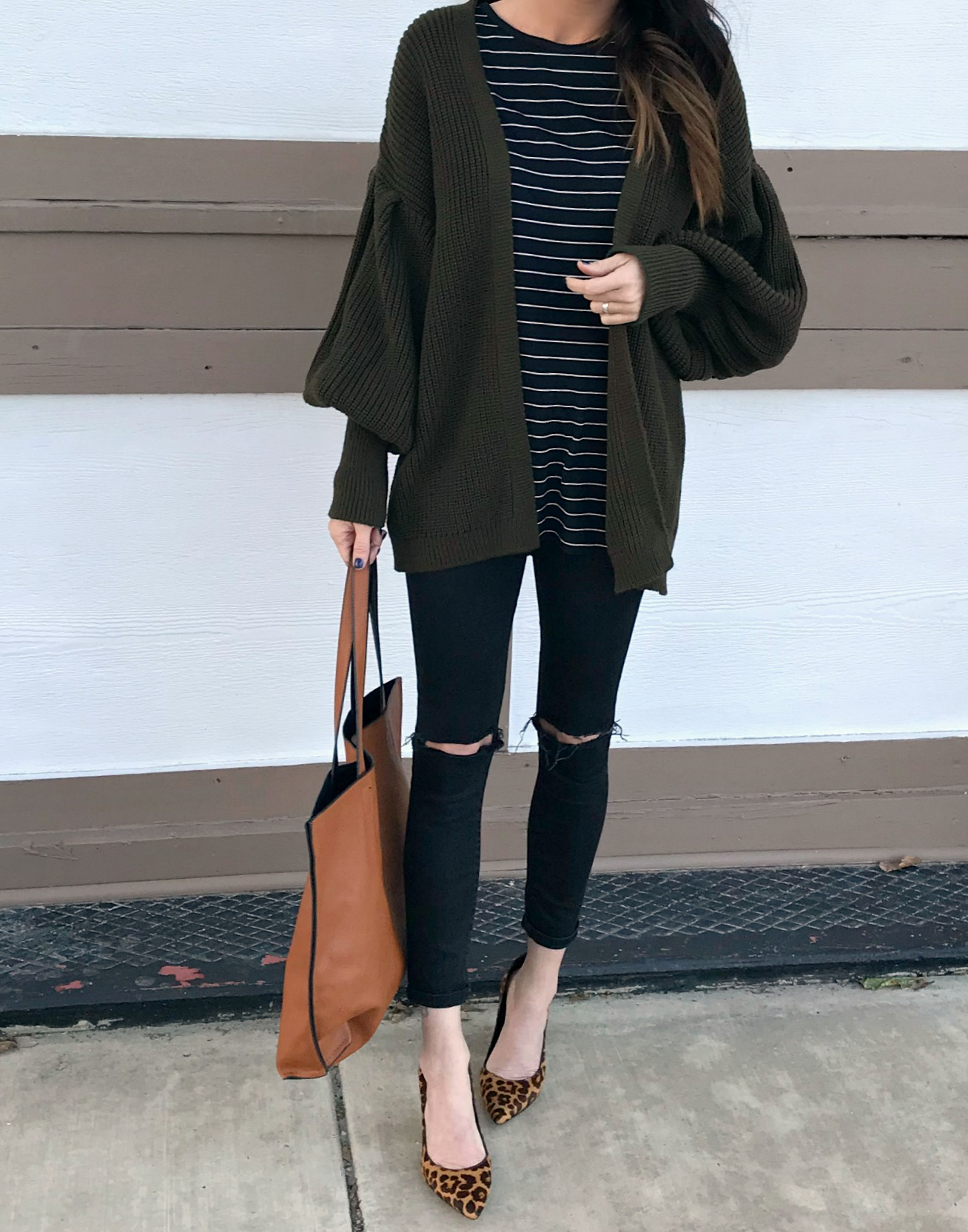 Cardigan Crush Statement Sleeves