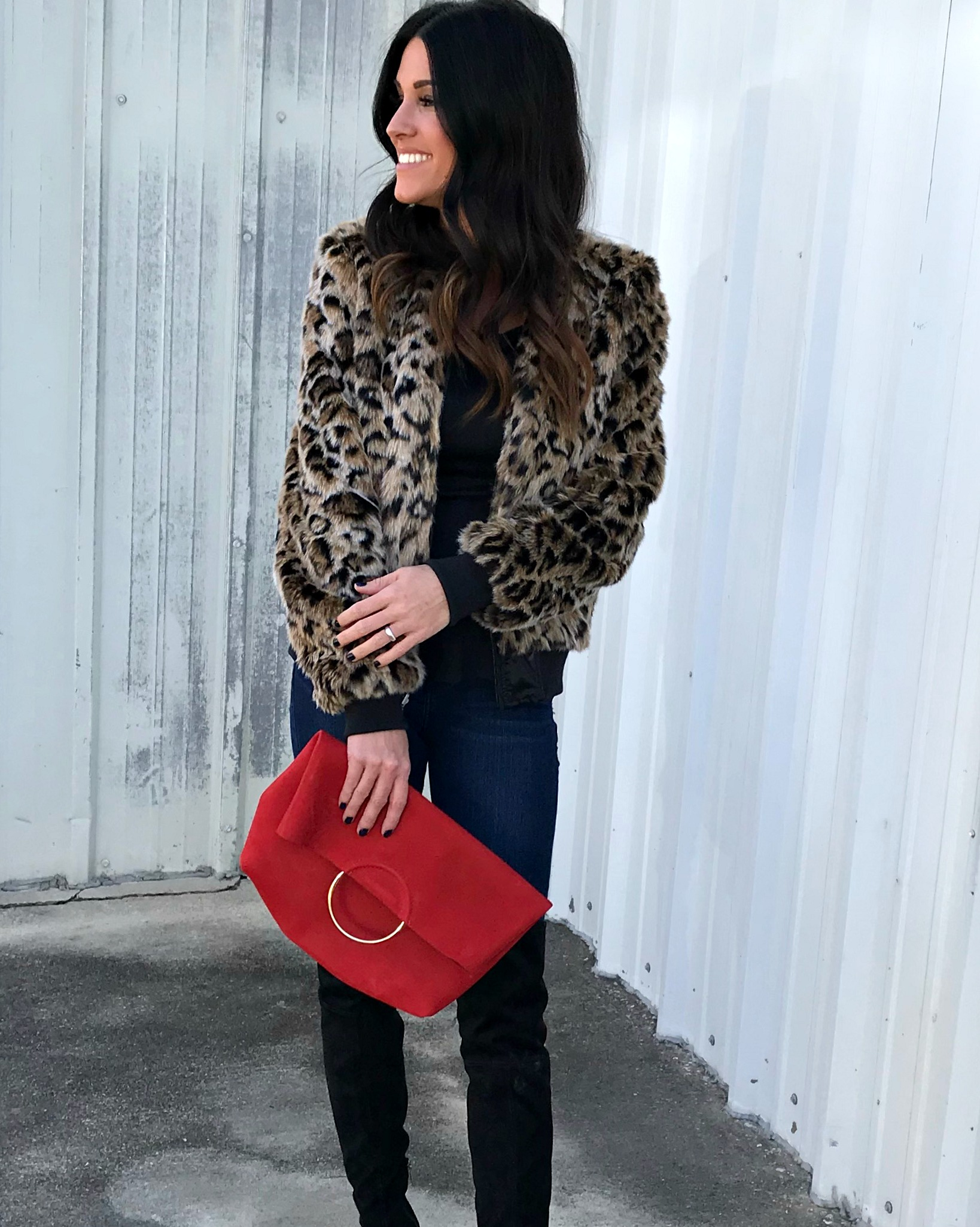 Leopard and Red