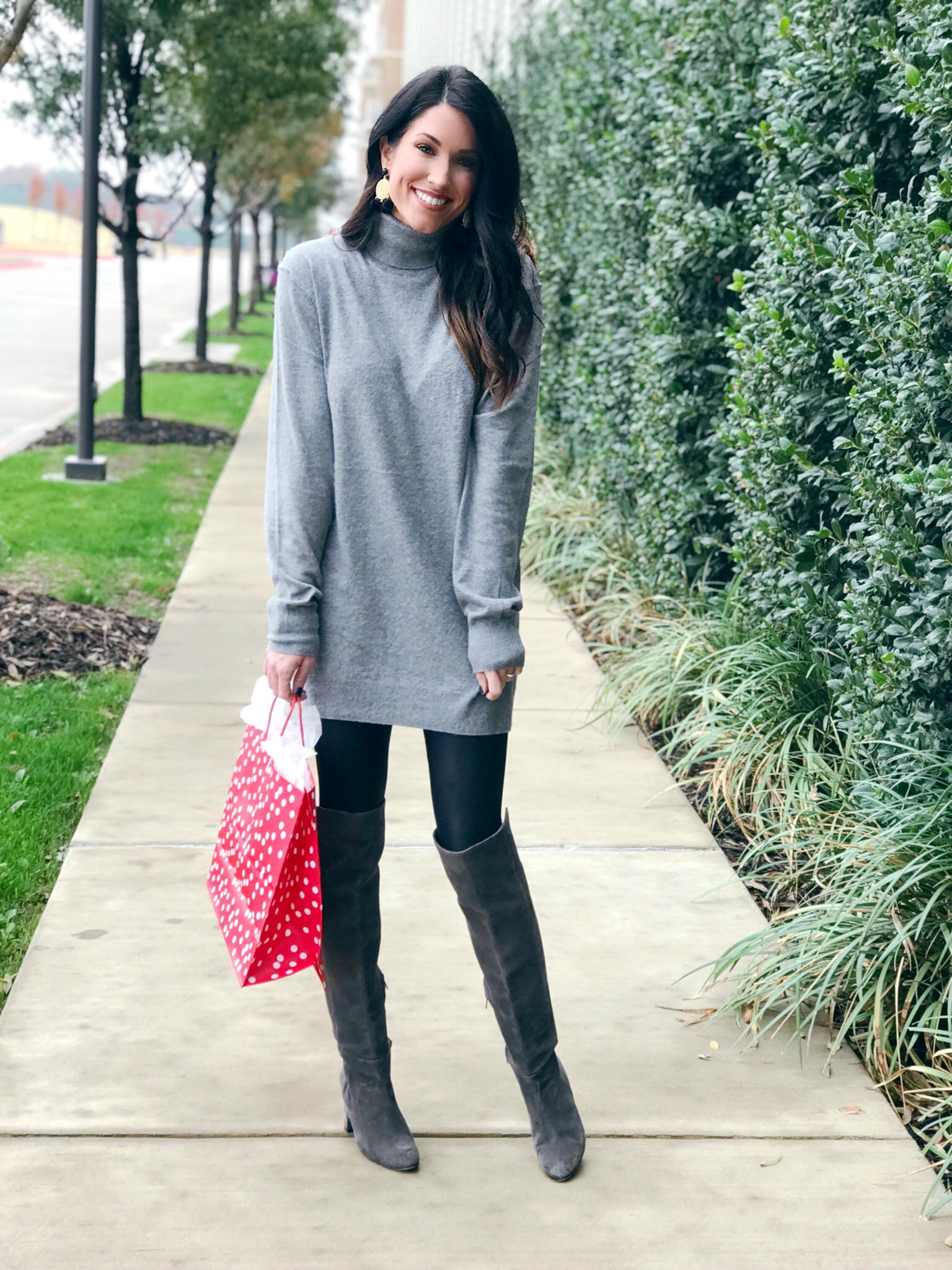 Tunic and Tall Boots