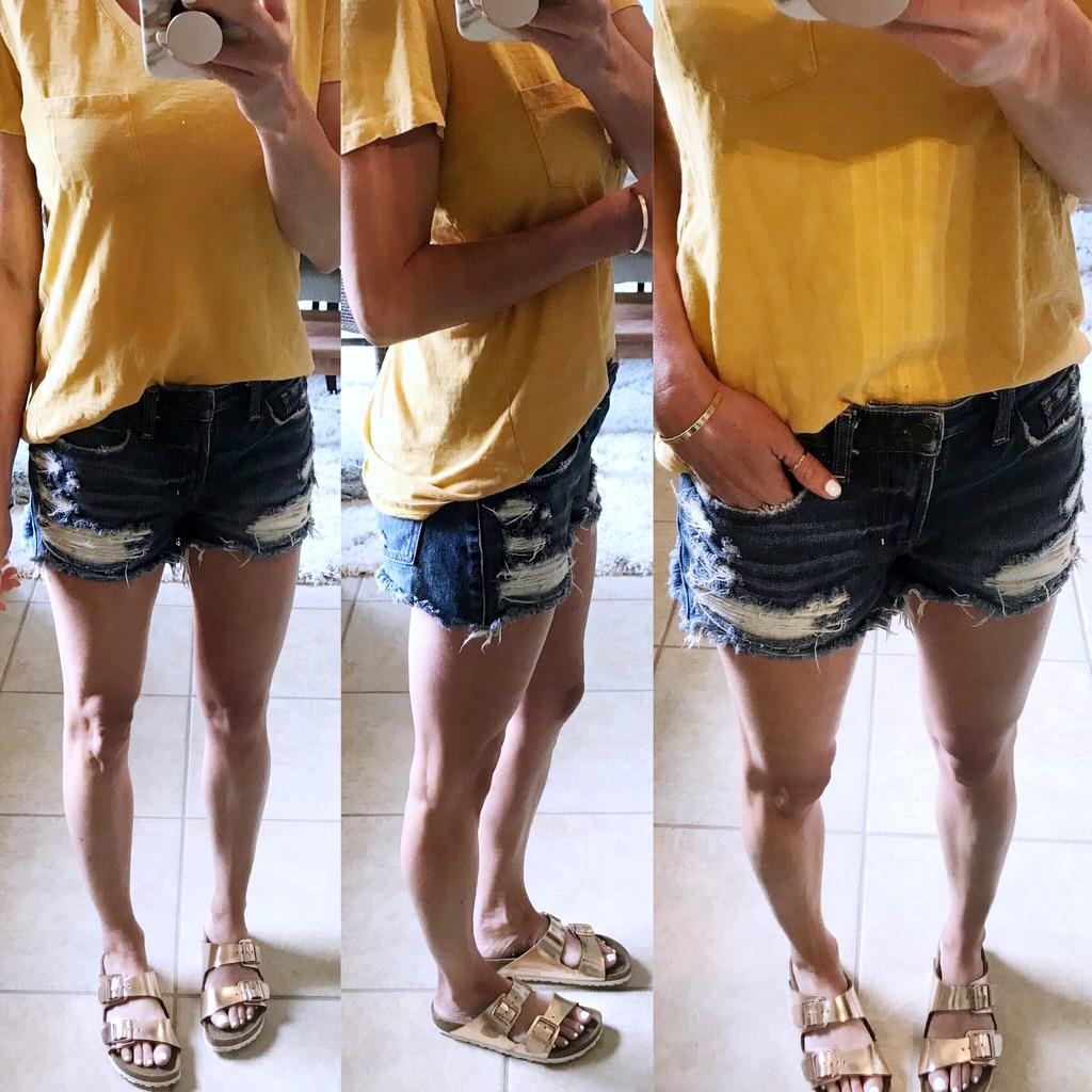 Denim Shorts Review