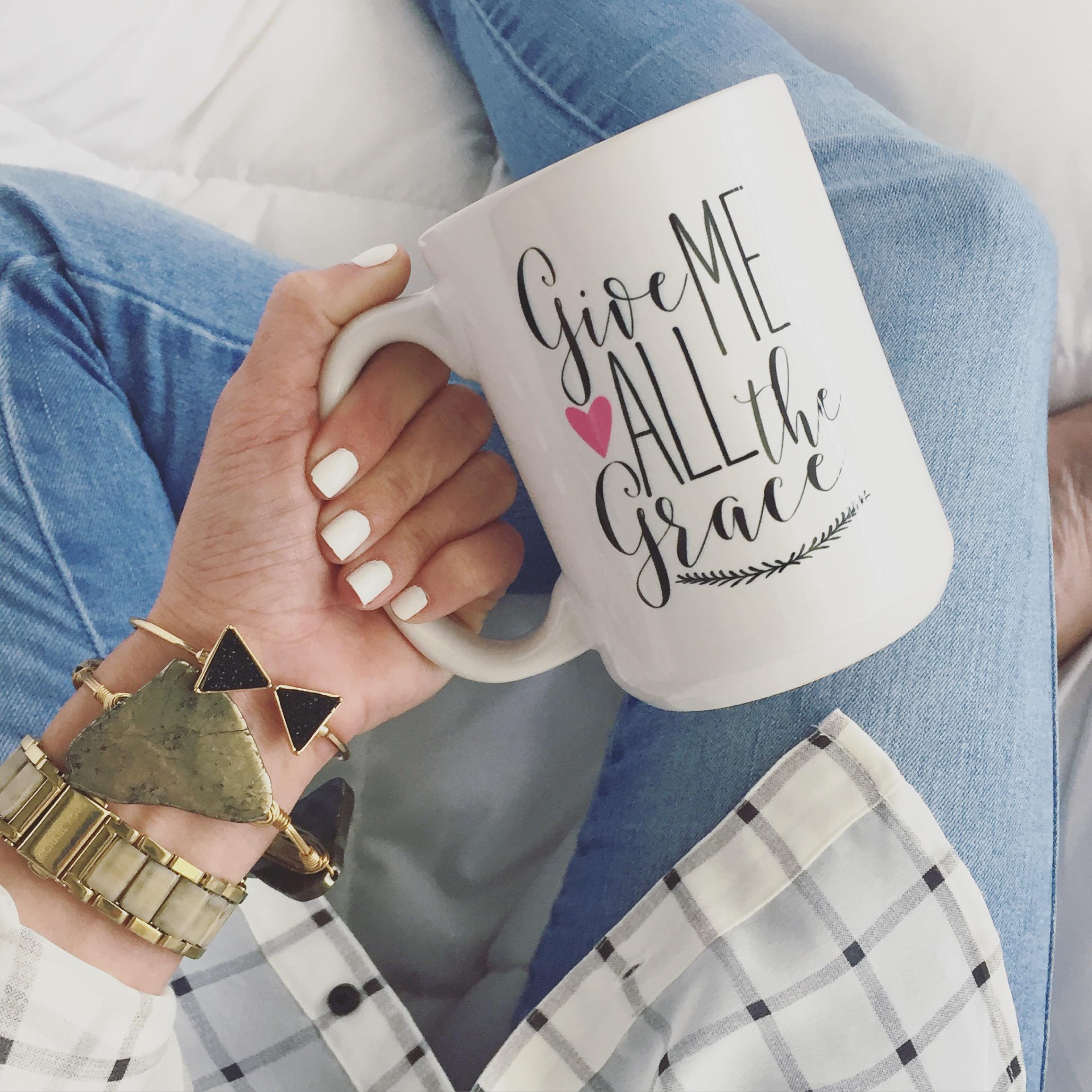 Give Me Grace Coffee Mug