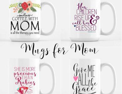 Weekend Wishlist: Mugs for Mom