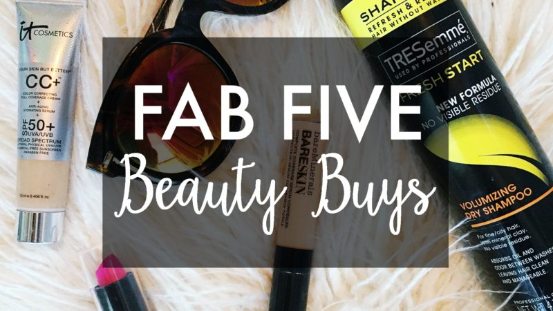FAB Five Beauty Buys