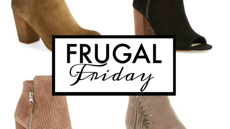 Frugal Friday: Booties