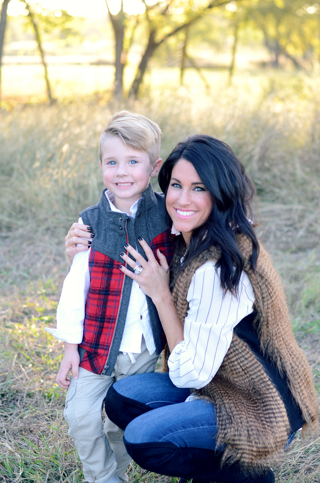 Camden and Mommy