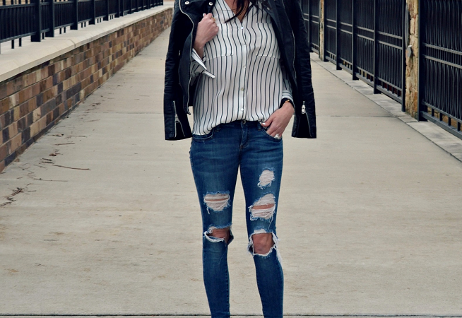 Leather & Stripes