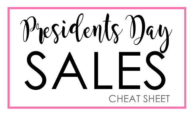 Presidents Day Sales