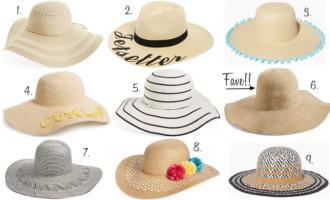 Beach essentials beach hats floppy hats