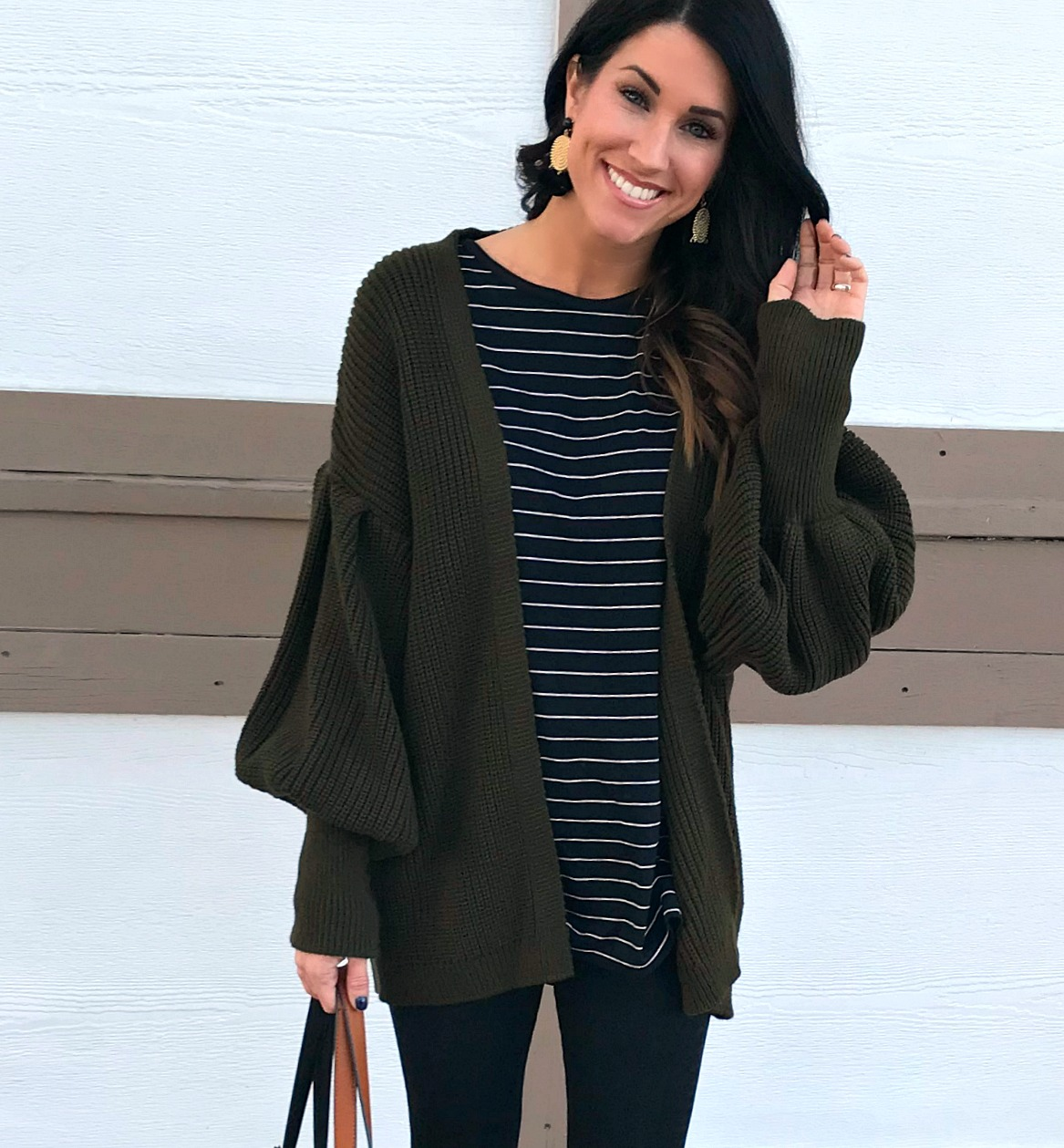 Cardigan Crush: Statement Sleeves