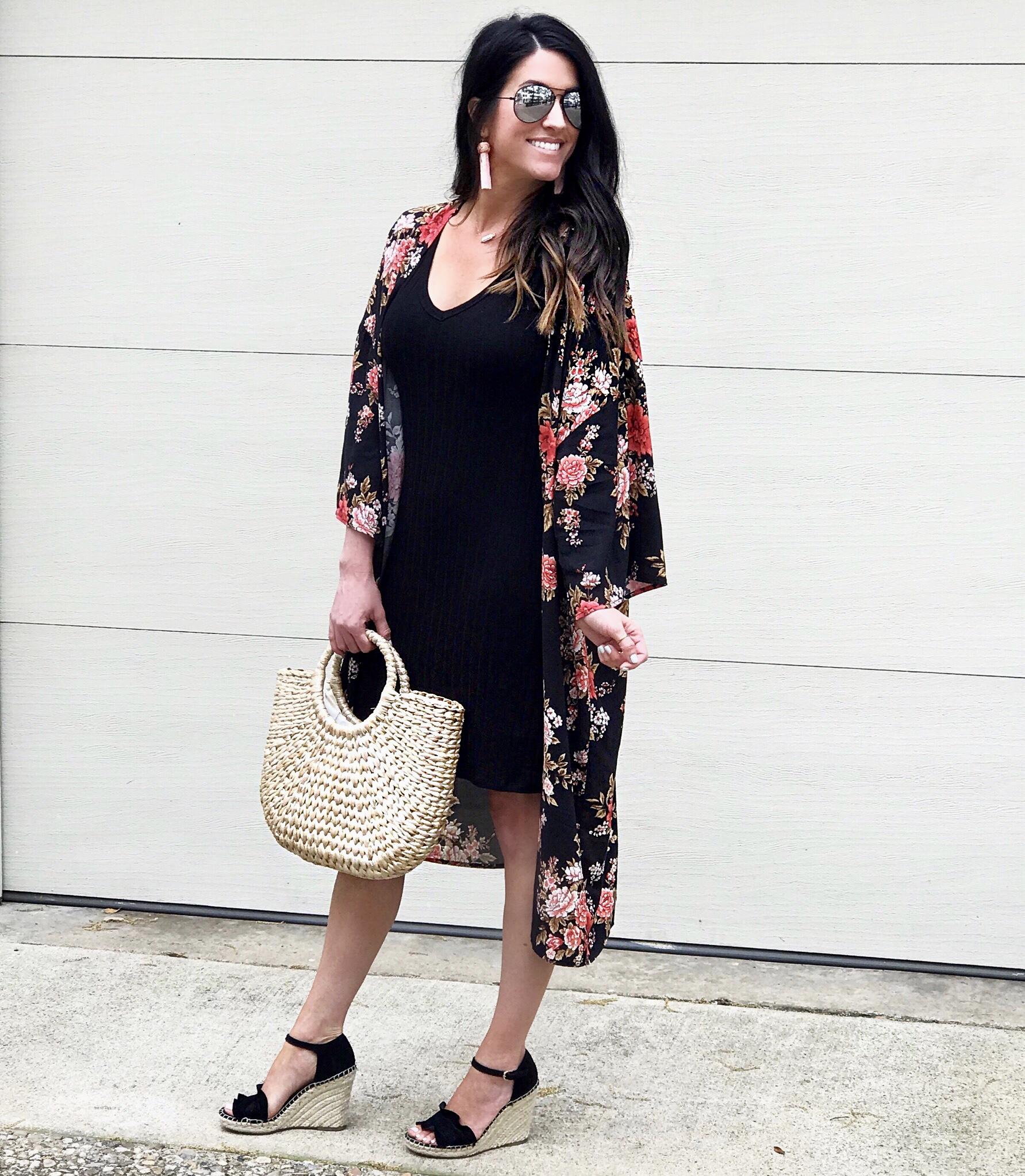 Spring Dress, Kimono outfit