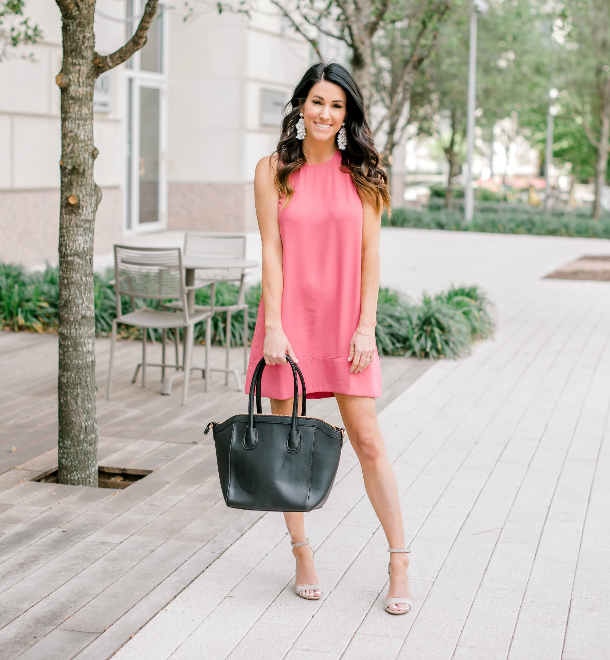 Shift Dress, date night outfit