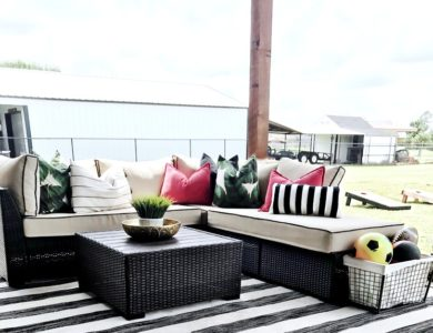 Our New Outdoor Living Space