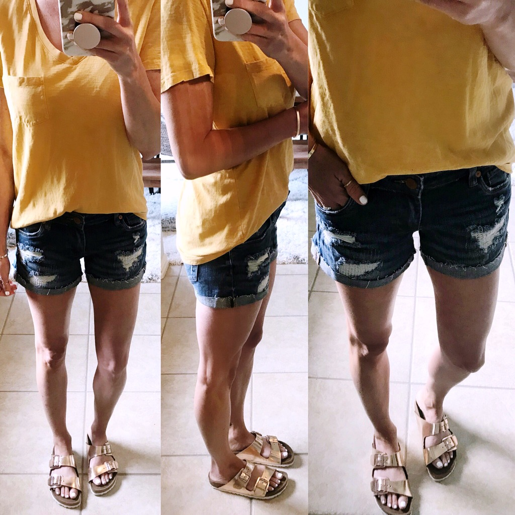 Denim Shorts Review