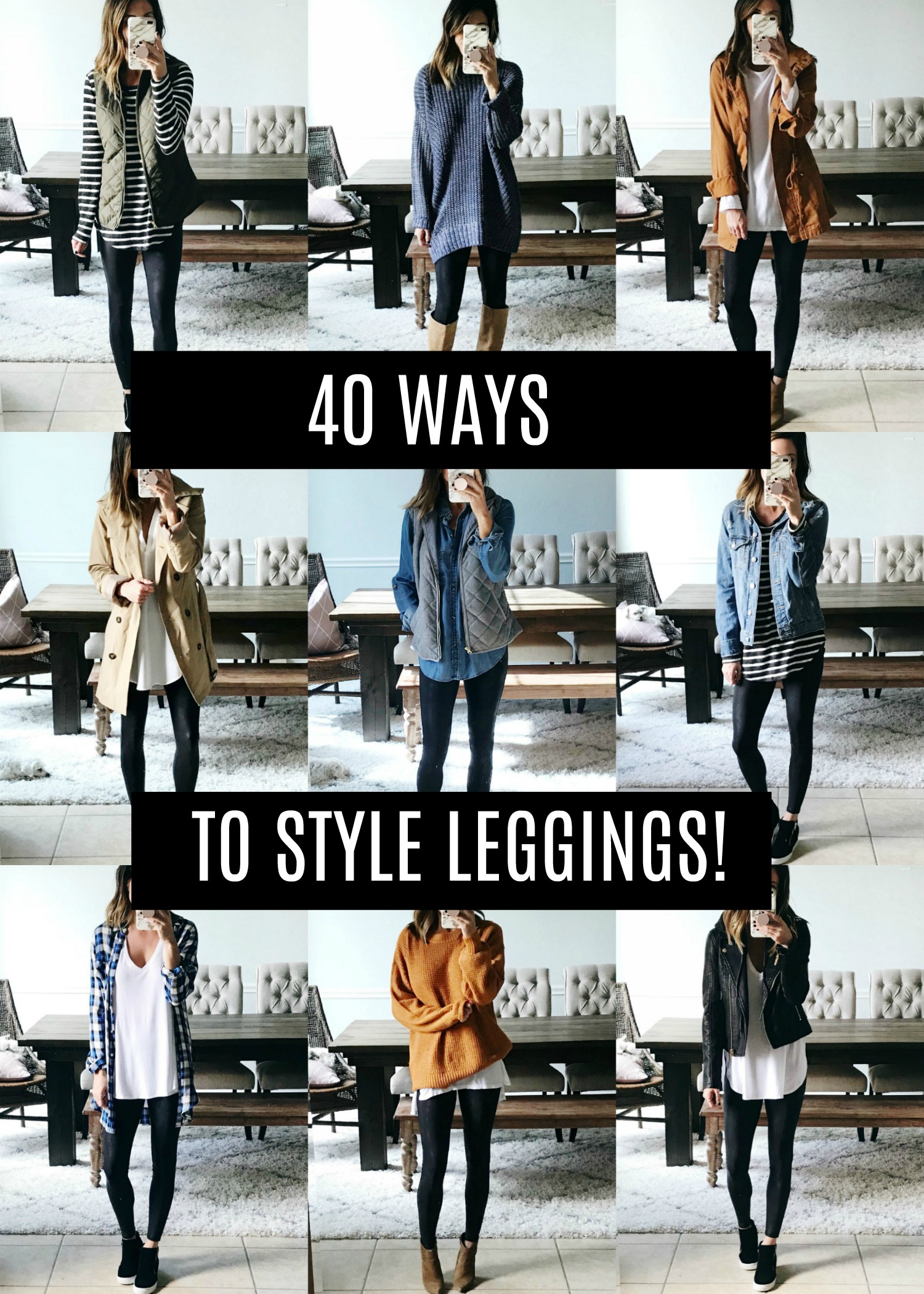 6cef755629d 40 Ways to Style Leggings! - The Sister Studio