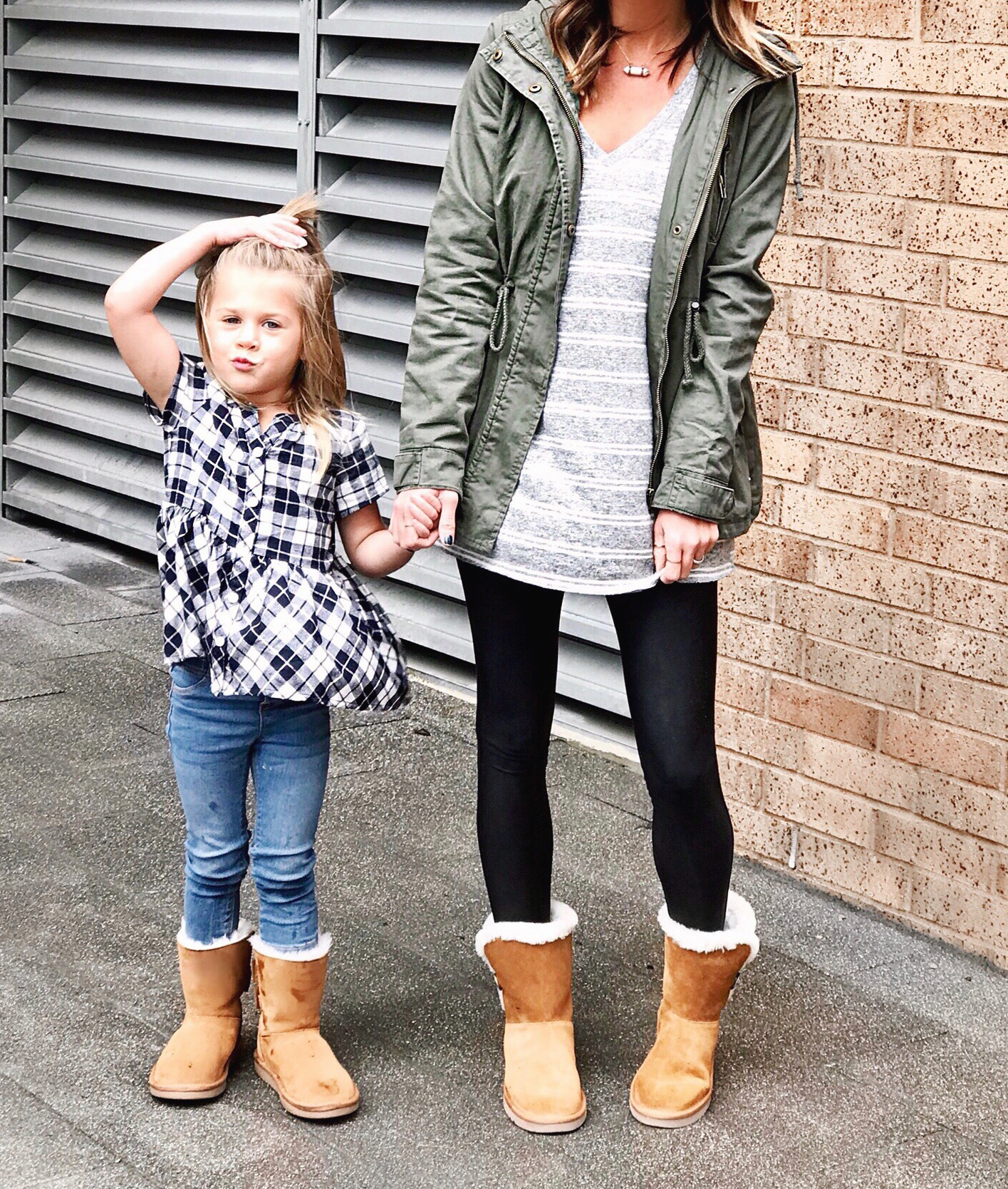 Mommy and mini outfits