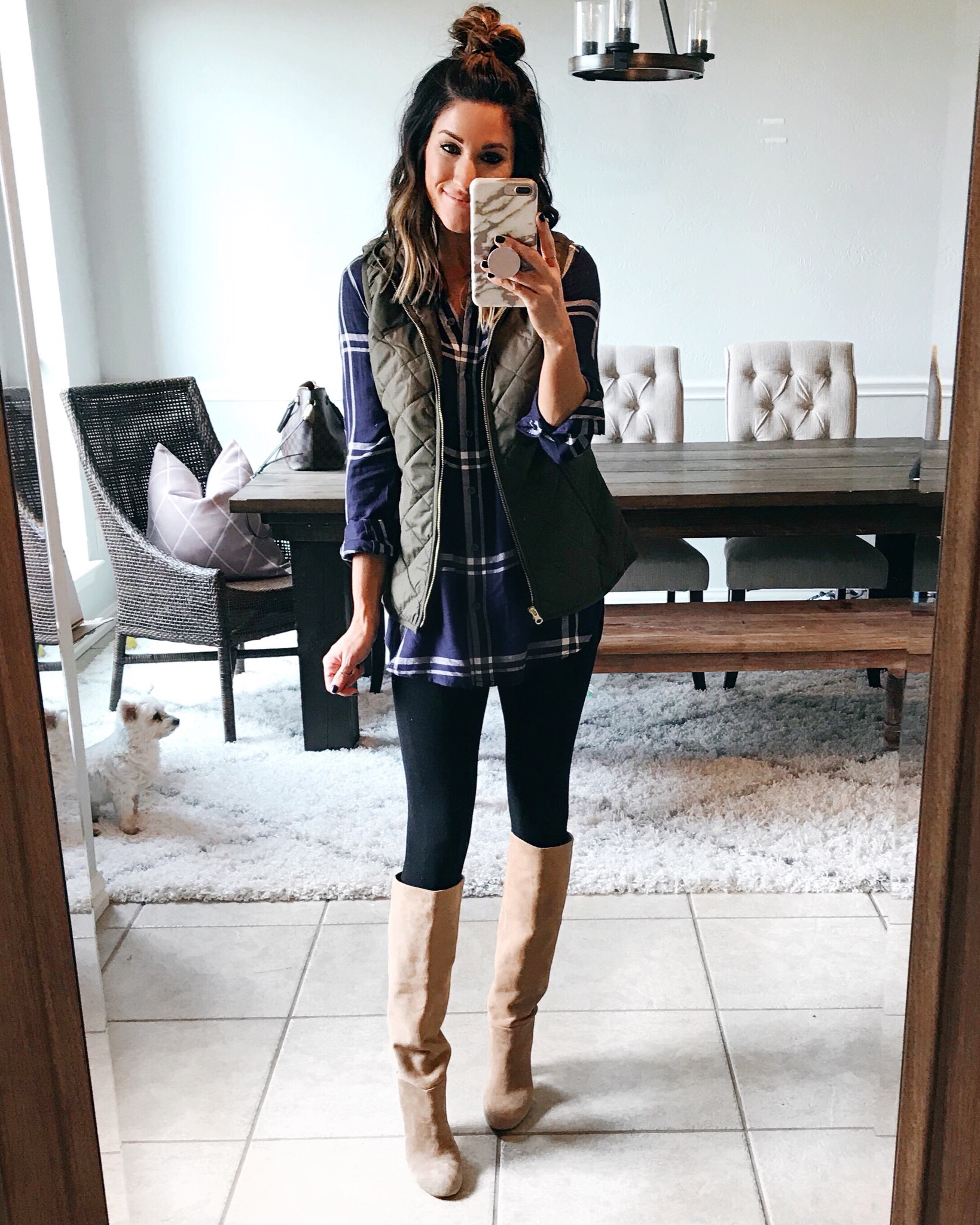 Old Navy Plaid Top