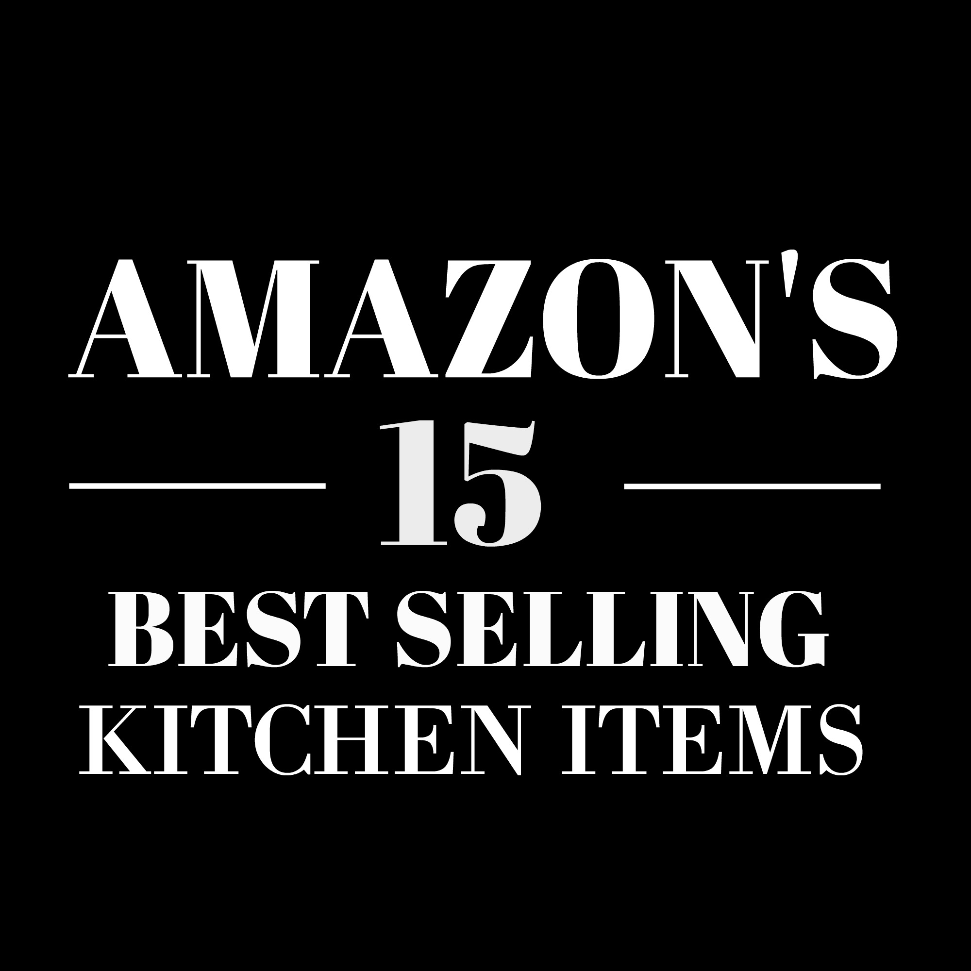 BEST SELLING ITEMS ON AMAZON
