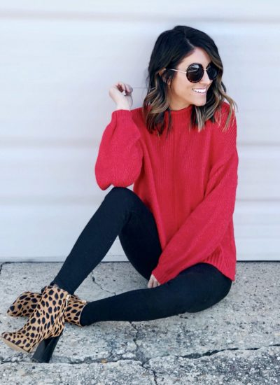 Leopard Shoes + Fall Sweaters Under $50!