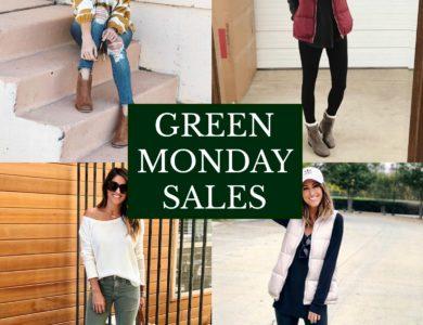 GREEN MONDAY SALES!