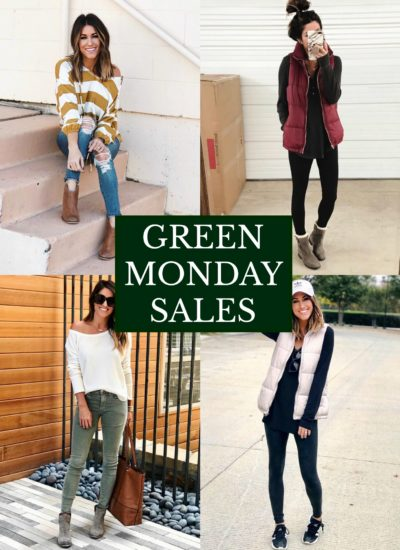 GREEN MONDAY SALES!