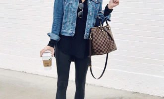 Leggings outfit, casual style