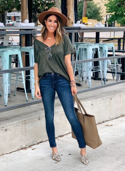 Non-Distressed Jeans I'm LOVING!